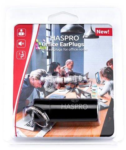 Zatyczki do uszu wielorazowe Haspro Office EarPlugs 1 para