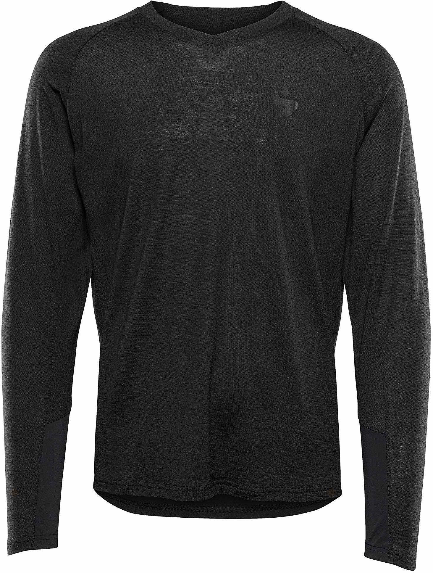 Sweet Protection Hunter Merino LS męska koszulka M, męska, koszulka, 828079, czarna, L