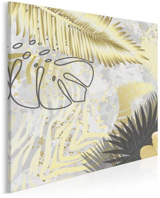 Bora-Bora - nowoczesny obraz na płótnie - 80x80 cm