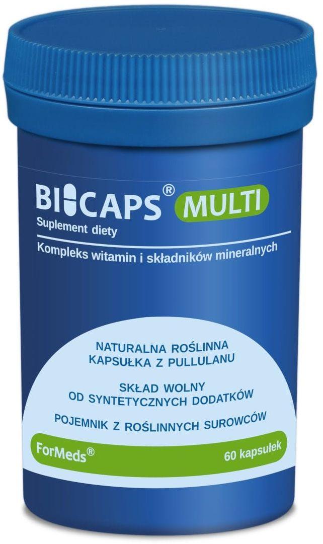 BICAPS Multi Witaminy i Minerały (60 kaps) ForMeds