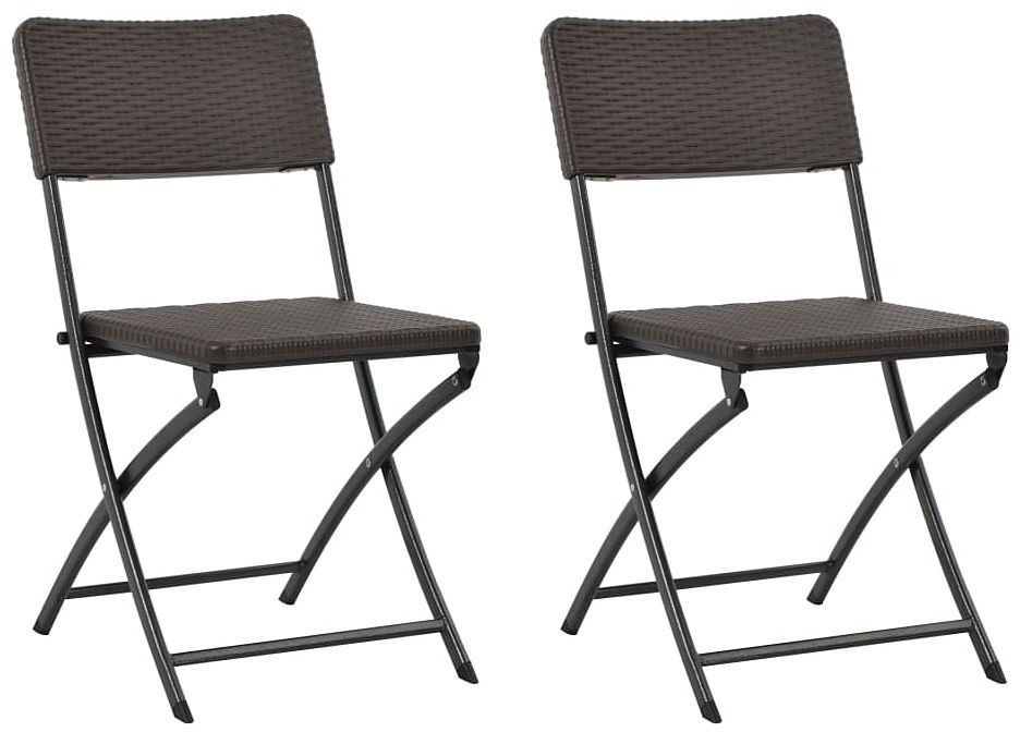 Składane krzesła ogrodowe Otavio - 2 szt