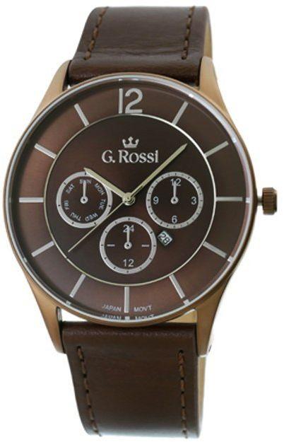 Zegarek Męski G.Rossi 7028A-2B1