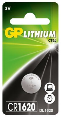 Baterie guzikowe GP CR1620-U1. > DARMOWA DOSTAWA ODBIÓR W 29 MIN DOGODNE RATY
