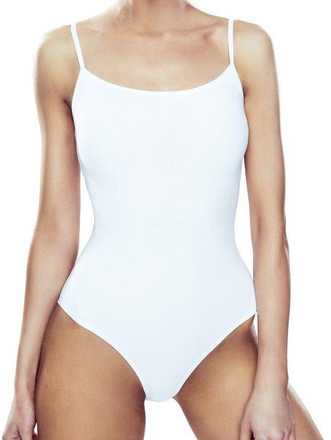 Paola/BO body bawełniane białe