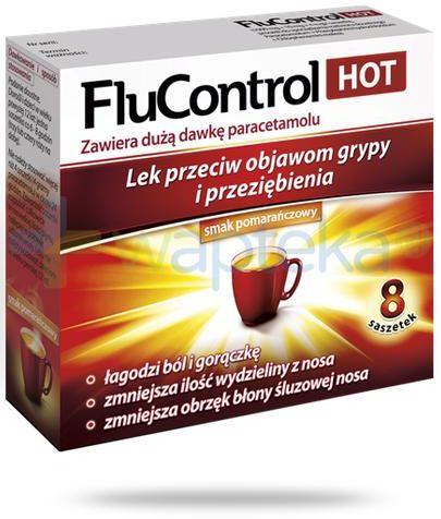 FluControl Hot 8 saszetek