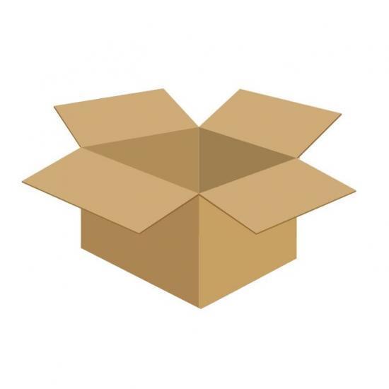 Karton klapowy tekt 3 - 390 x 290 x 240 450g/m2 fala C