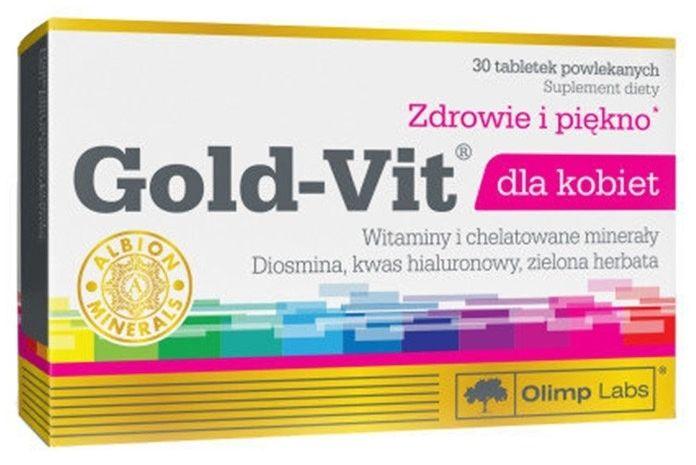 Olimp Gold Vit dla kobiet 30 tabs