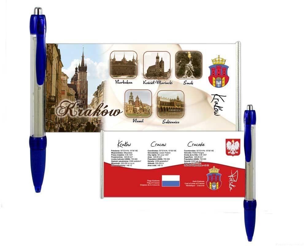 Długopis rozwijany Kraków