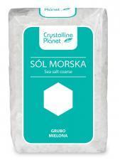 Sól morska grubo mielona 600g Crystalline Planet