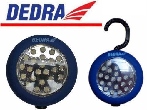 Latarka 24 LED okrągła z magnesem DEDRA L1000
