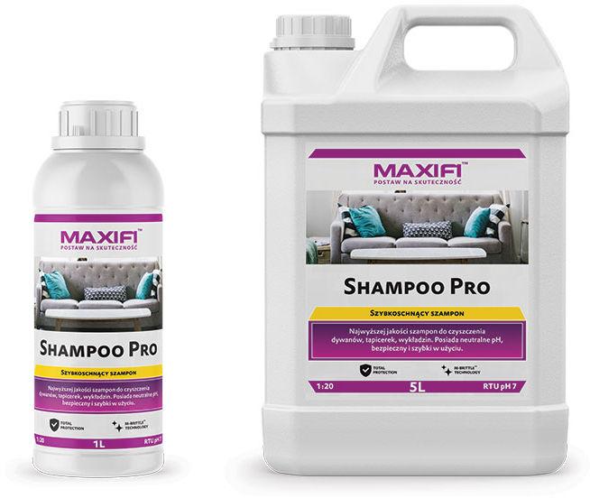 Maxifi Shampoo Pro do tapicerki, dywanów i wykładzin