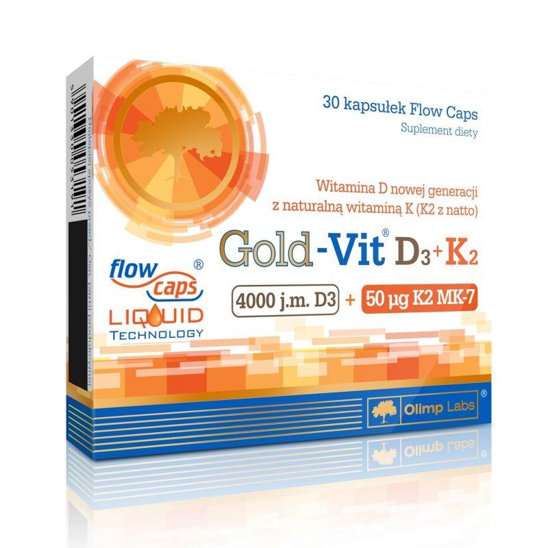 Olimp Gold-Vit D3+K2 30 kaps