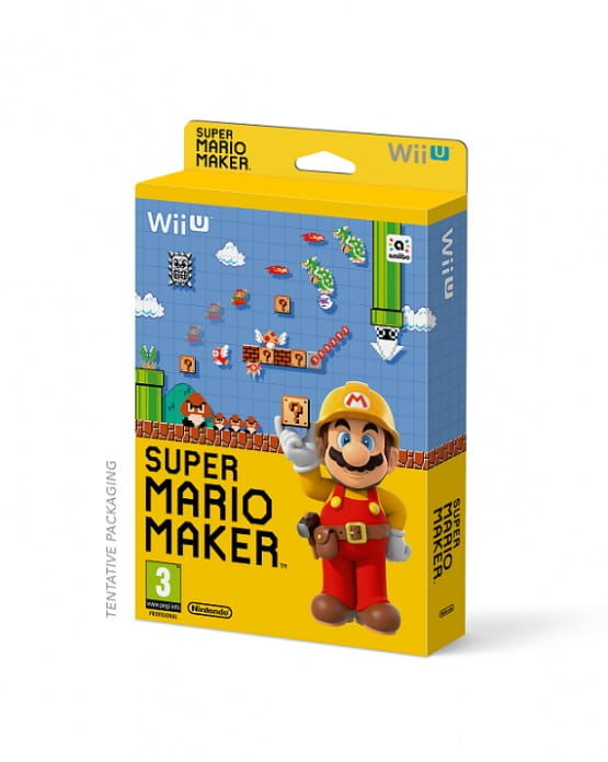 Gra Super Mario Maker (Nintendo WiiU)