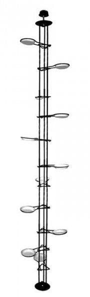 Kwietnik metalowy - Rozporowy 250 cm