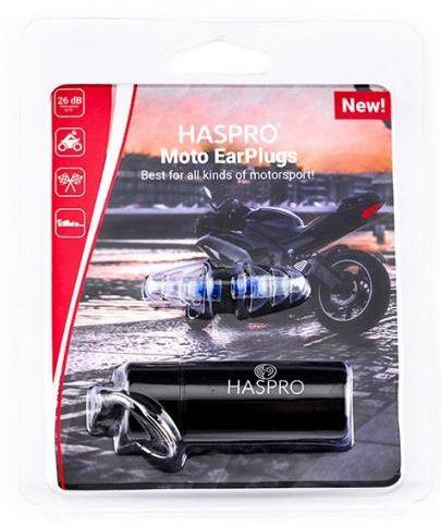 Zatyczki do uszu wielorazowe Haspro Moto EarPlugs 1 para