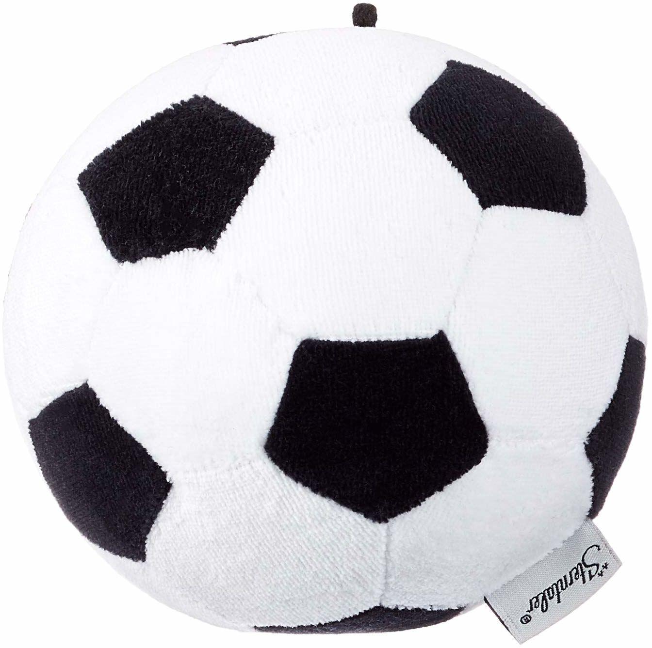 Sterntaler 33010 piłka nożna, wiek: dzieci od 0 lat, czarny/biały
