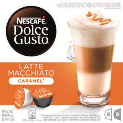 Kawa NESCAFE Dolce Gusto Latte Macchiato Caramel. Kup taniej o 40 zł dołączając do Klubu