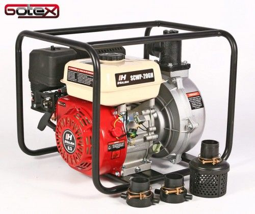 Motopompa, pompa spalinowa ciśnieniowa wirnik aluminiowy Holida SCWP-20GH 6 BAR deszczownia