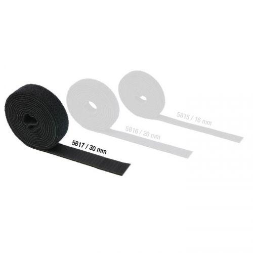 Adam Hall Hardware 5817 - Taśma rzepowa, dwustronna, szerokość: 30 mm