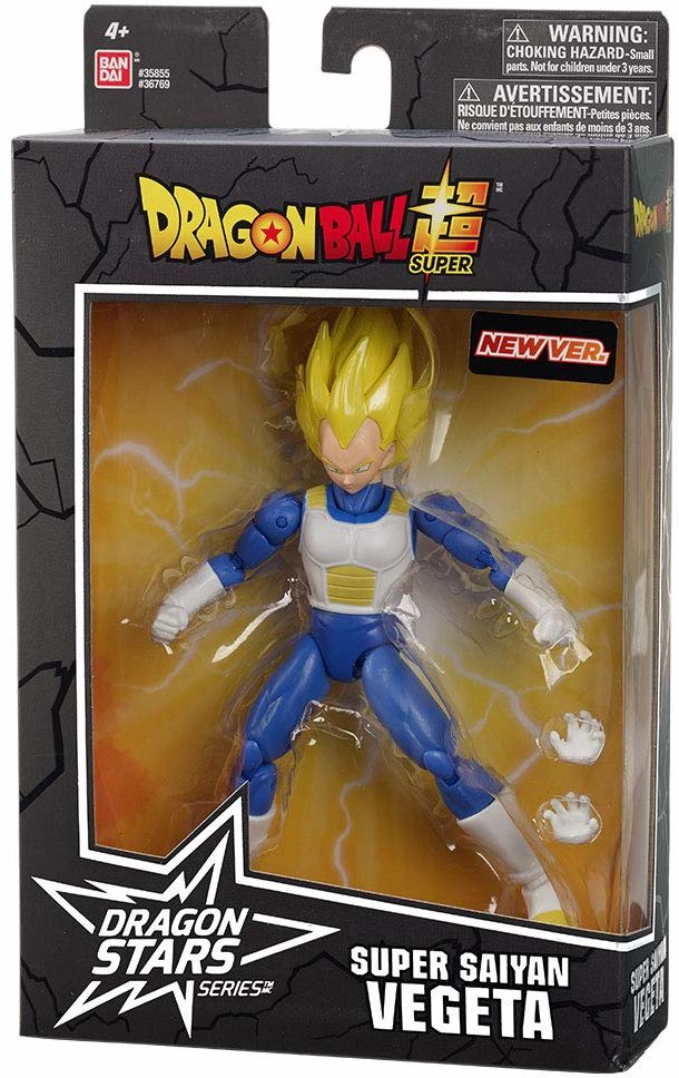 Bandai 36769 Dragon Ball Dragonstars 17 cm figurka - super Saiyan Vegeta V2