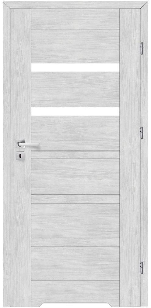 Skrzydło drzwiowe z podcięciem wentylacyjnym ETNA Dąb arctic 60 Prawe ARTENS