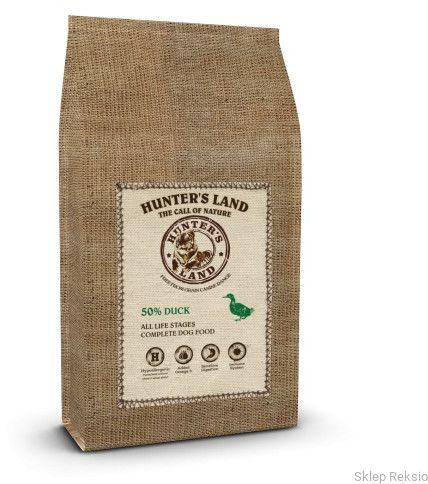 HUNTER''S LAND Grain Free 50% Duck 2kg
