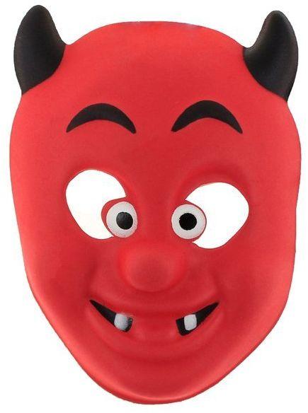 Maska piankowa Diabełek 1szt TZ-MPDI