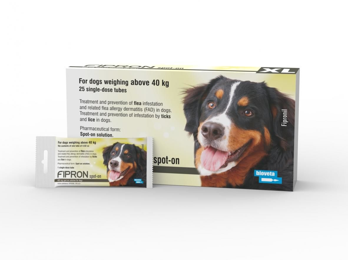 Fipron 1 pipeta 402 mg psy powyżej 40 kg