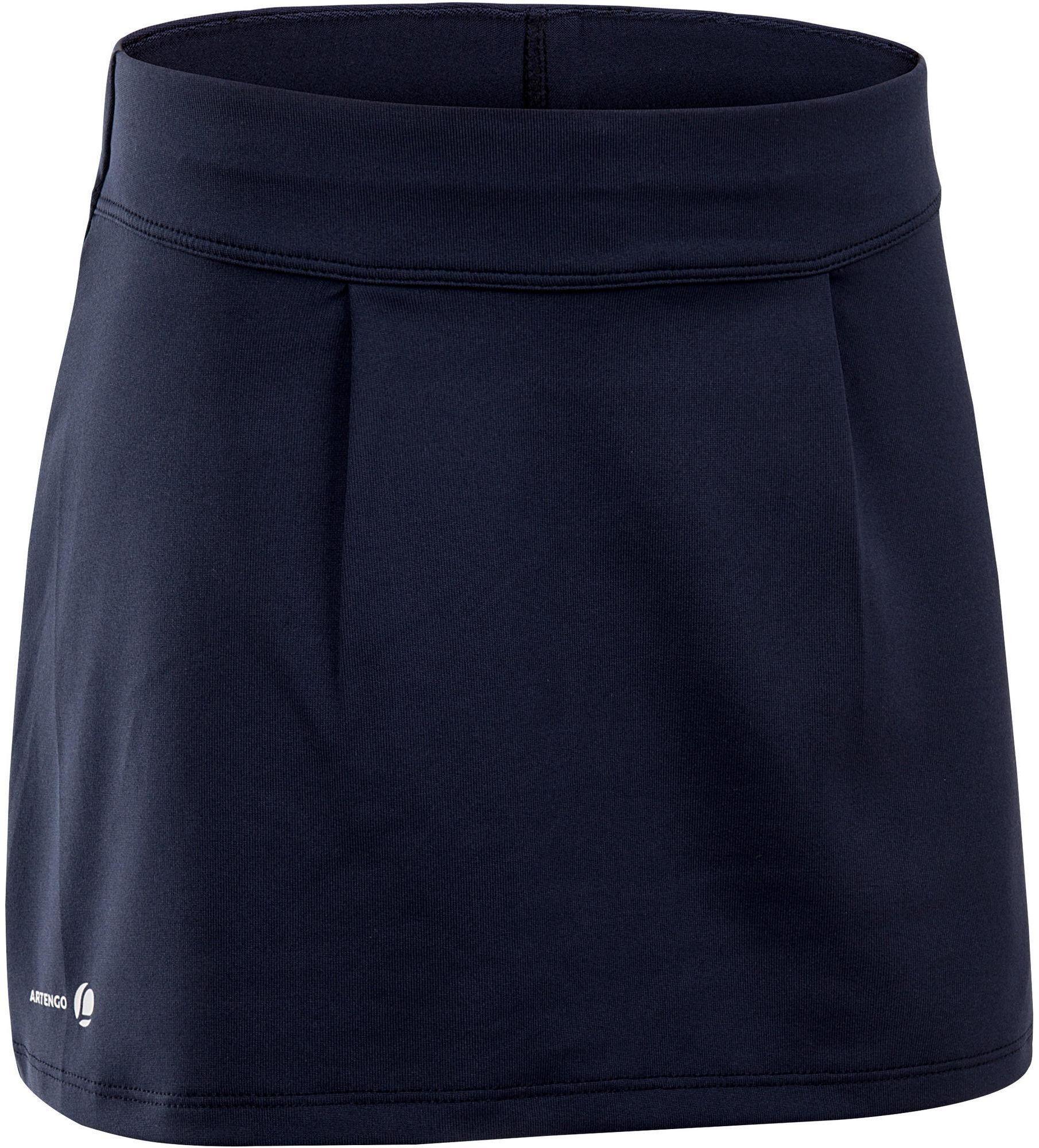 Spódniczka tenisowa 100 dla dziewczynek