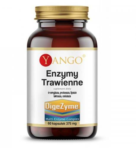 Enzymy Trawienne 60 kaps Yango