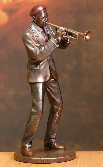 Statuetka Jazzowa Trębacz