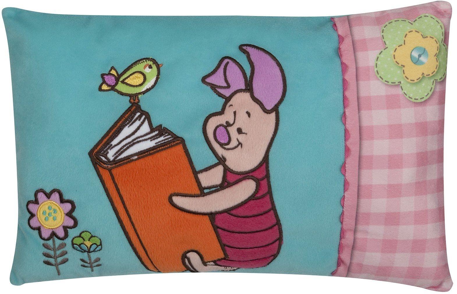Joy Toy 15229 - Kubuś Puchatek poduszka haftowana, 42 x 28 cm