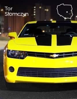 Jazda za kierownicą Chevroleta Camaro  Tor Słomczyn