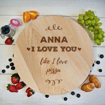 I Love Pizza - Deska obrotowa
