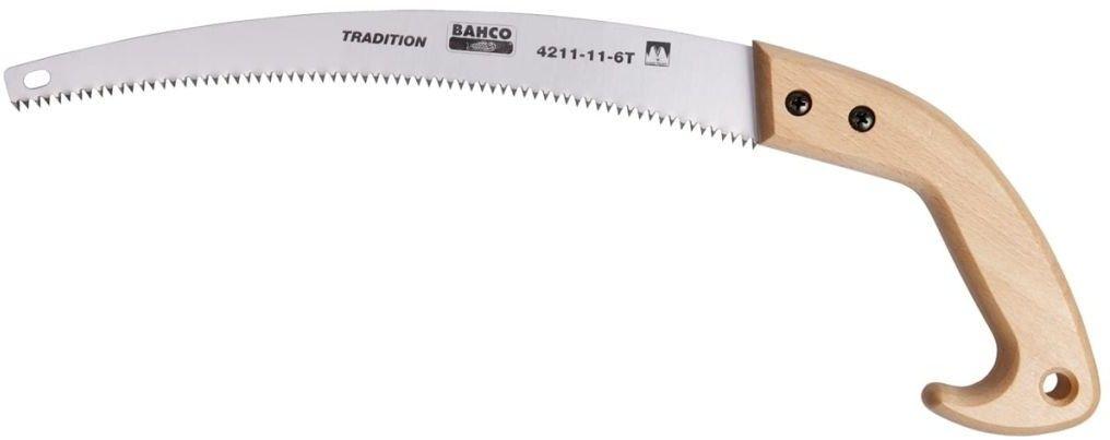 piła ręczna sadownicza do suchych i twardych gałęzi 280mm, zęby hartowane 6/cal Bahco [4211-11-6T]