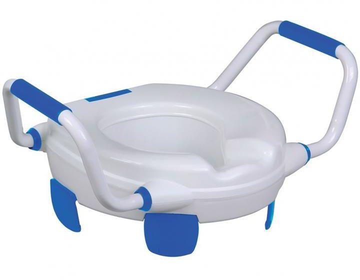 Nakładka na WC z uchwytami bez pokrywy Clipper IV