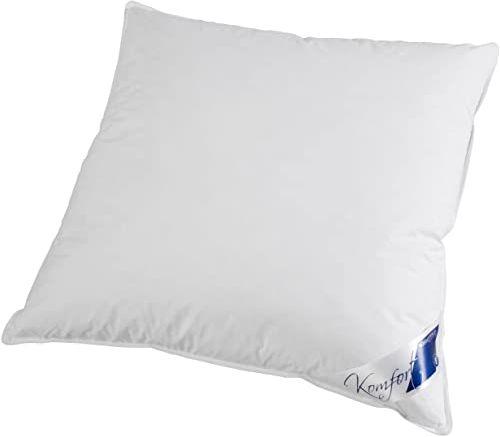Böhmerwald Komfortowa poduszka pod głowę, 85% pierze / 15% puch, waga wypełnienia: 1150 g, komfort podparcia: stały, 80 x 80 cm