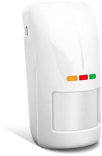 Zewnętrzny czujnik ruchu satel opal plus biała, czujnik zmierzchu, regulacja czułości, bez uchwytu. - szybka dostawa lub możliwość odbioru w 39 miastach