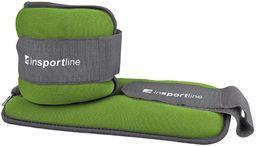 Neoprenowe obciążniki na kostki i nadgarstki Lastry 2 x 1 kg Insportline