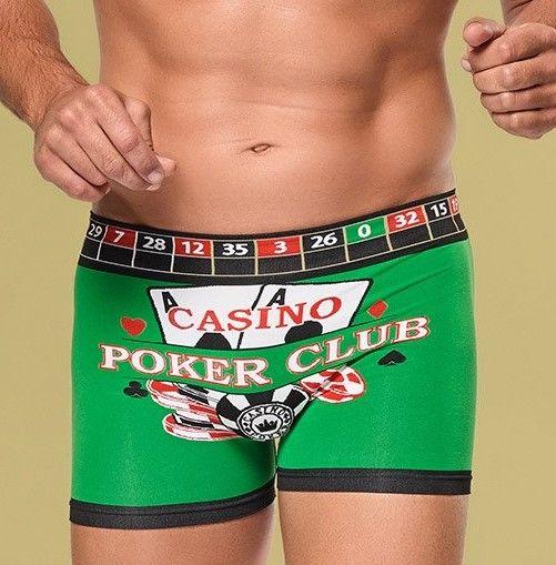 Włoskie Męskie BOKSERKI Casino, Poker, Ruletka