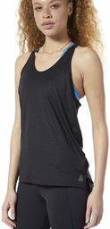 Reebok damski Os Smartvent Tank koszulka bez rękawów, czarna, L