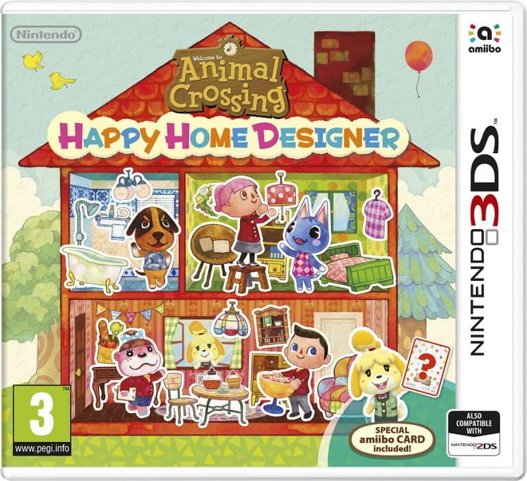 Gra Animal Crossing: Happy Home Designer Amibo Card (Nintendo 3DS)