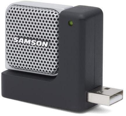 Samson Go Mic Direct - mikrofon USB , Kardioida - Dookólny, 16-bit/44.1kHz, , pokrowiec , oprogramowanie