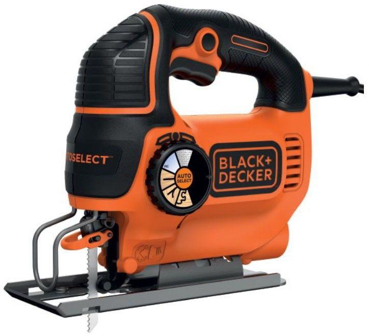 wyrzynarka elektryczna z podcinaniem 550W, Black&Decker [KS801SEK]