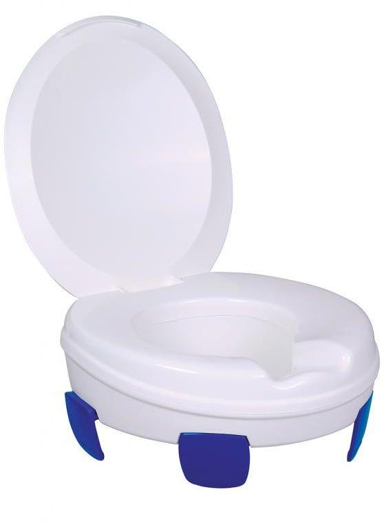 Nakładka na WC bez uchwytów z pokrywą Clipper III