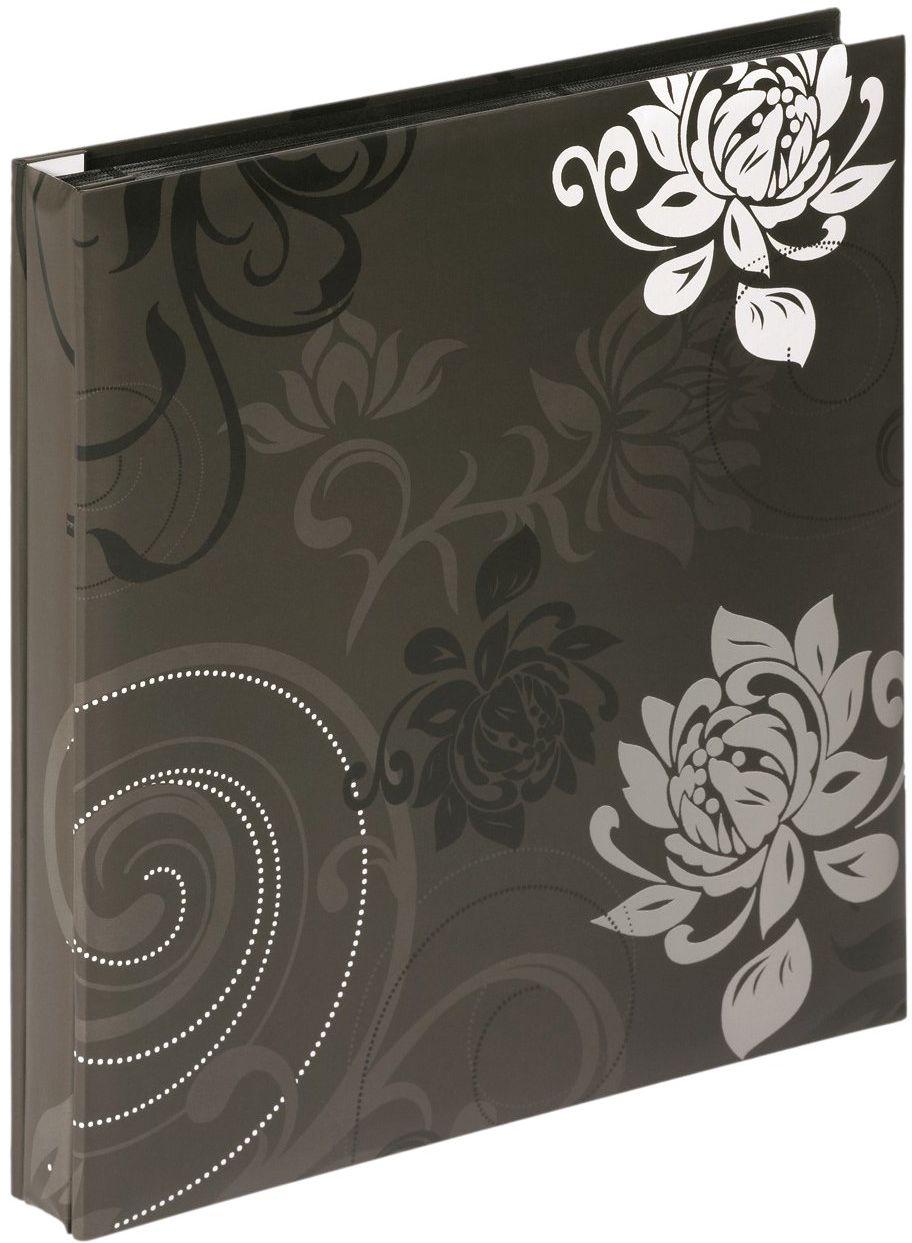 walther design EA-201-B Grindy laminowany papier artystyczny wsuwany album, na 400 zdjęć 4 x 6 cali (10 x 15 cm), czarny