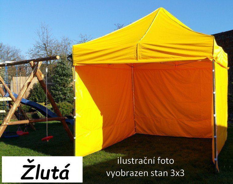 Ogrodowy namiot PROFI STEEL 3 x 6 - Żółty