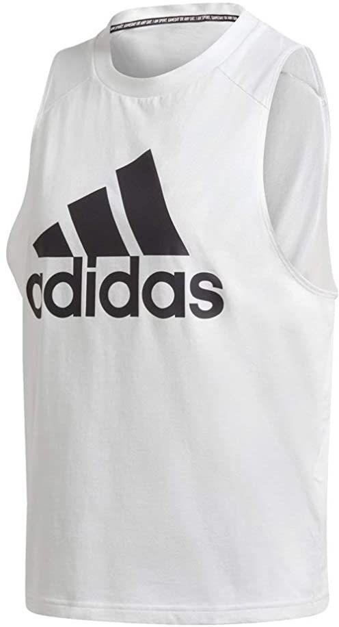adidas Damska koszulka bez rękawów W Bos Co Tank biały biały XXS