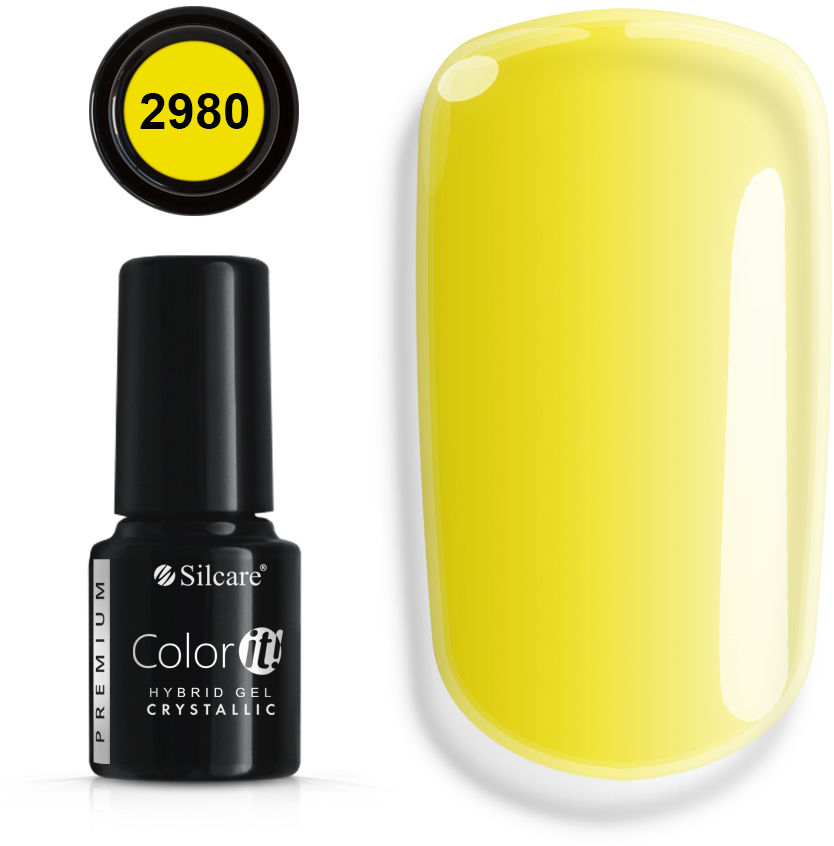 Color IT Premium Lakiery Hybrydowe - Linia Crystallic 6 g