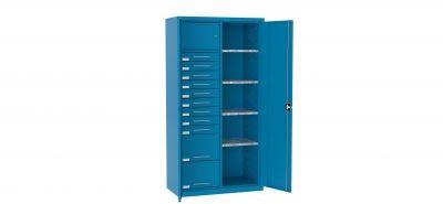 Szafa warsztatowa metalowa 1 skarbczyk 11 szuflad SL 168.18